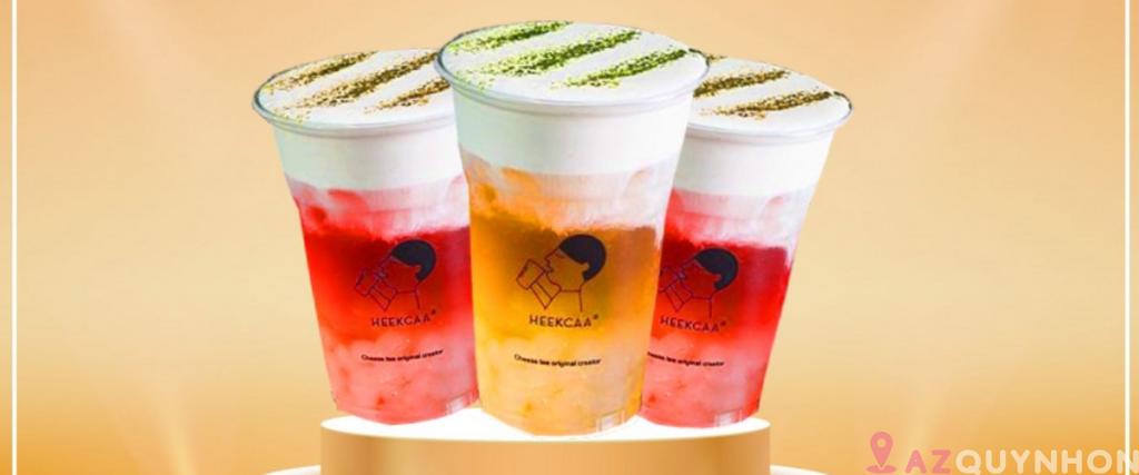 Heekcaa Quy Nhơn – Trà sữa thương hiệu có mặt tại Quy Nhơn