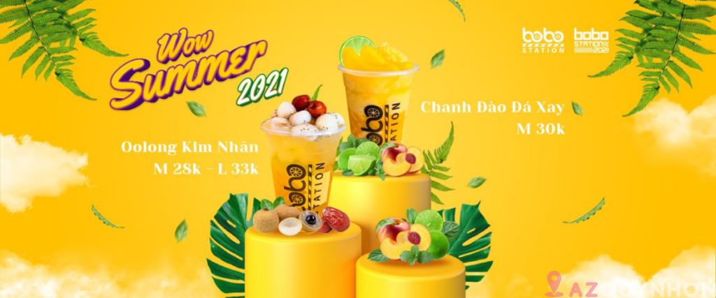 Bobo Station – Quán trà sữa hot nhất Quy Nhơn