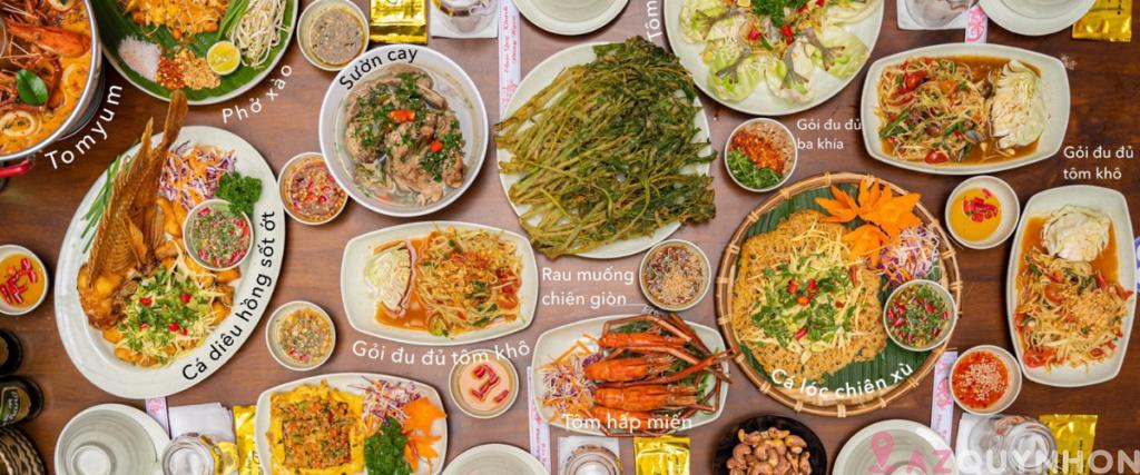 Chang Thai – Trải nghiệm ẩm thực Thái giữa lòng Quy Nhơn