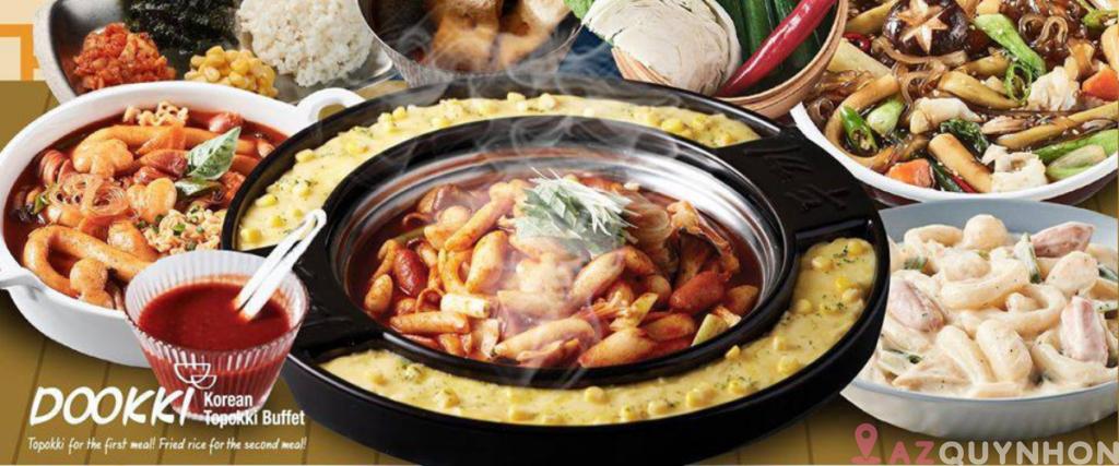 Dookki – Thương thiệu tokbokki lớn của Hàn