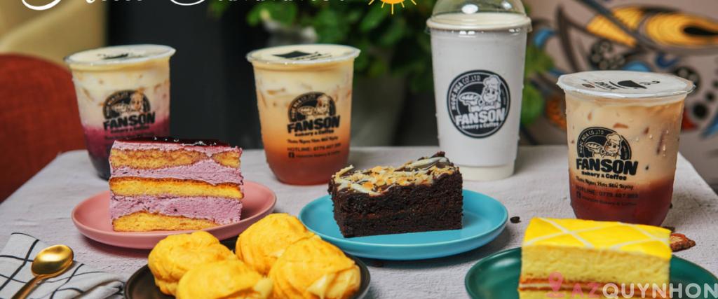 """Fanson Bakery & Coffee – """"Lò"""" cafe bánh tại Quy Nhơn"""