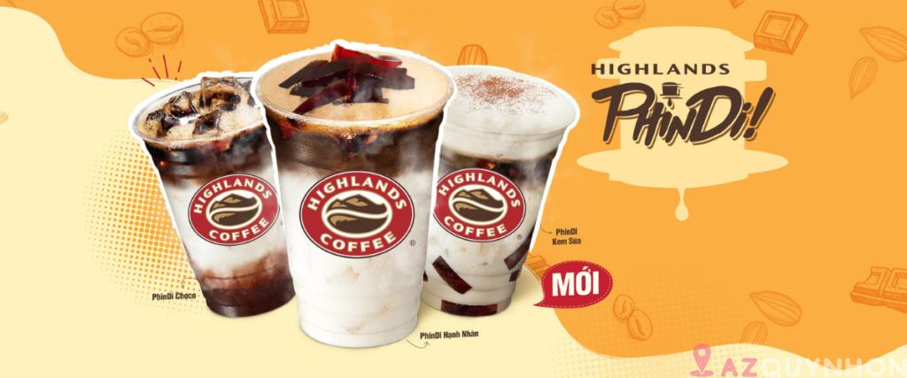 HighLands Coffee – Chuỗi cafe lớn tại Quy Nhơn
