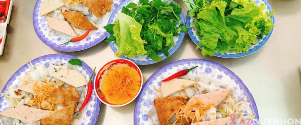 Gia Bảo – Bánh cuốn nóng lâu đời tại Quy Nhơn