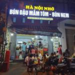 Hà Nội Nhớ - Tiệm bún đậu đầu tiên tại Quy Nhơn