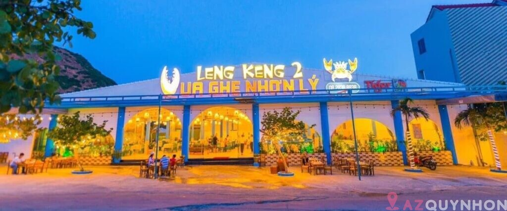 Nhà hàng hải sản LengKeng2 – Vua ghẹ Nhơn Lý Quy Nhơn