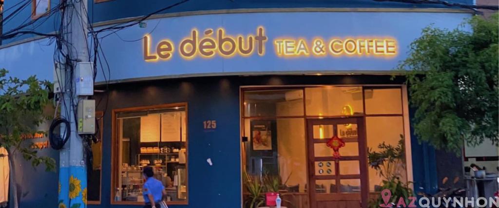 Le début – Quán trà trái cây với view check in siêu sang
