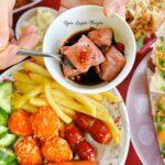Bánh tráng kẹp Bà Bông - Hàng ăn vặt tại Quy Nhơn